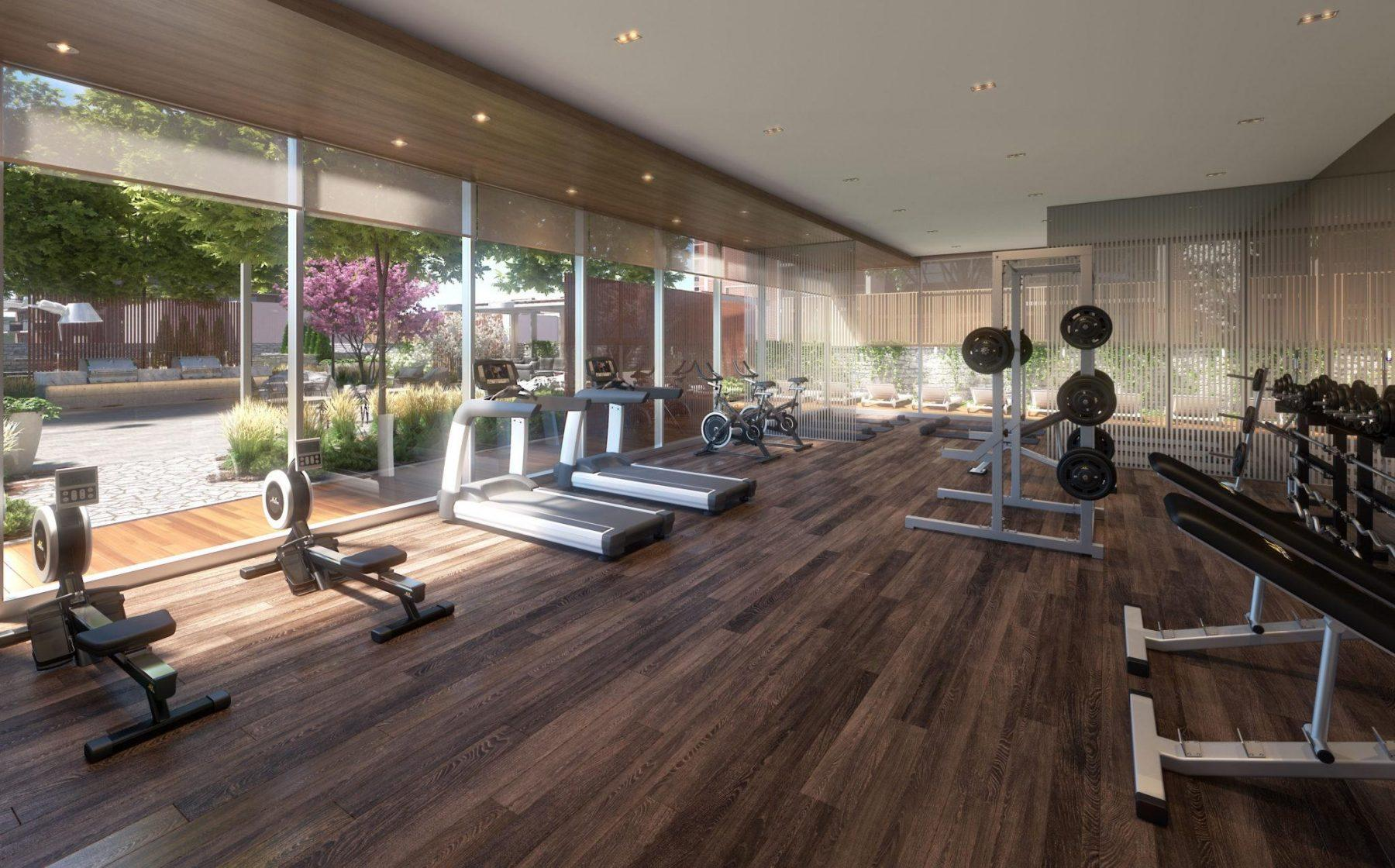 fitness centre At Tanu