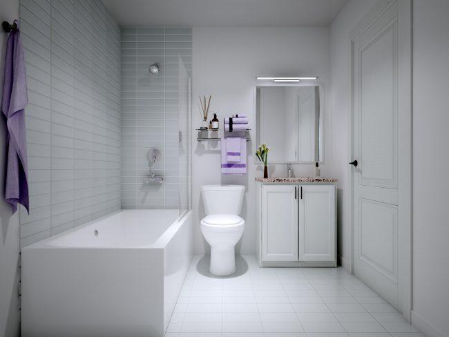 Nuvo Bathroom rendering