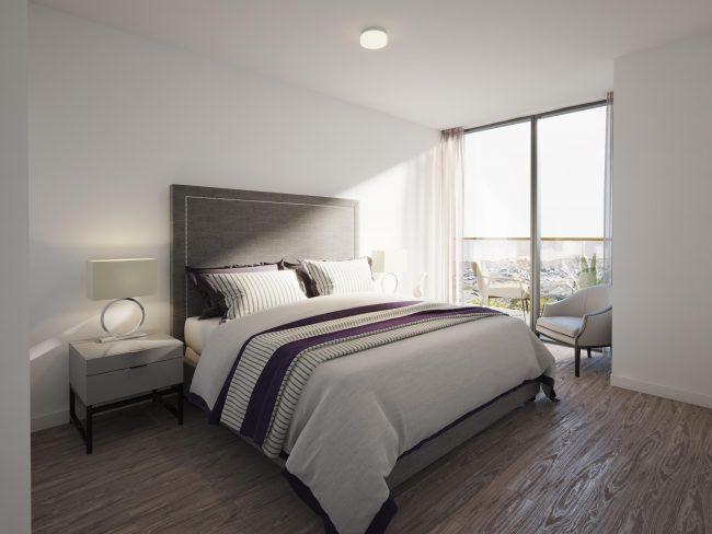 Nuvo Bedroom Rendering