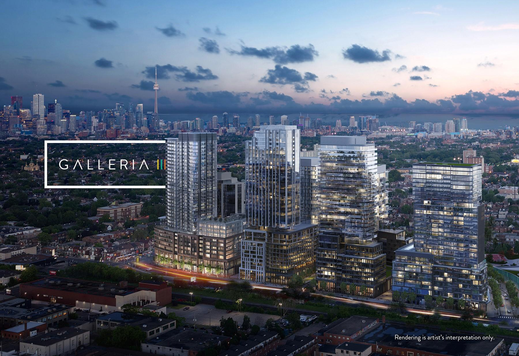 The Galleria on the park master planned community