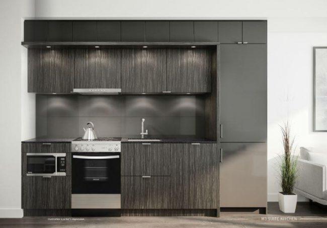 Dark Kitchen Sample Rendering
