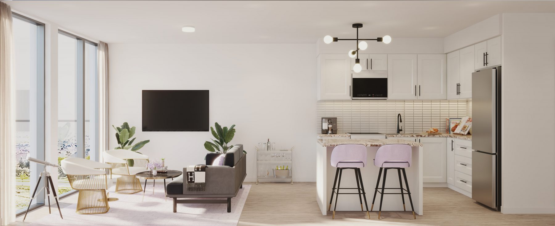 Nuvo Featured Suite Rendering