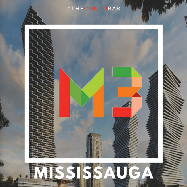 M3 condos at M City Mississauga