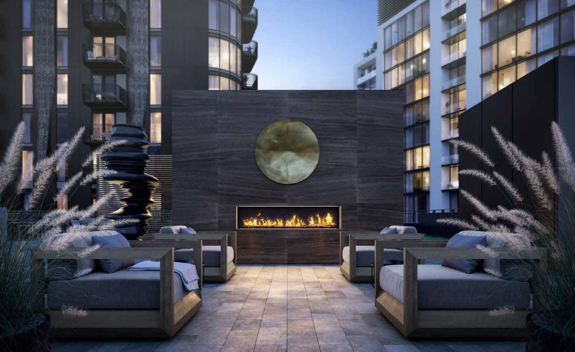 The elegant Outdoor Terrace