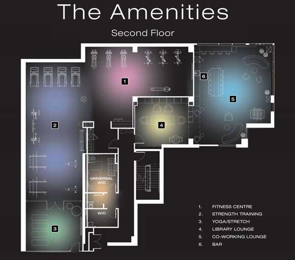 artform condo 2nd floor amenities