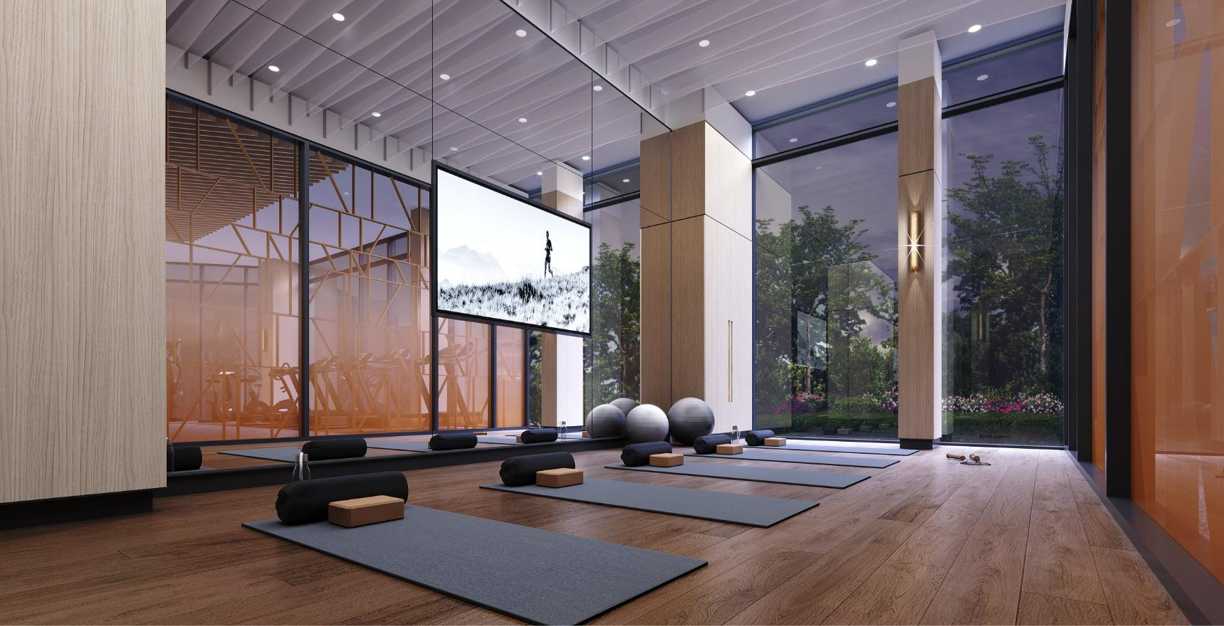yoga amenities