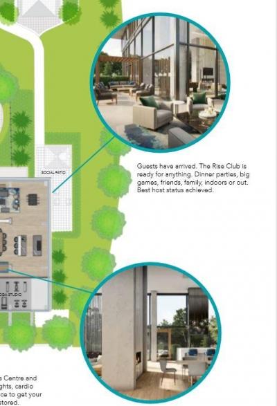 rise condos amenities