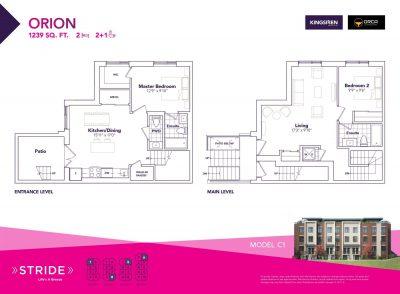 Orion Floorplan