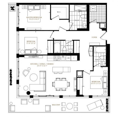 Tanu Sample Floor Plan