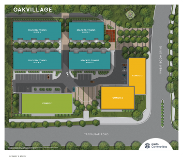 Oakvillage Siteplan