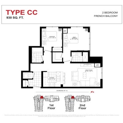 TYPE CC FLOOR PLAN
