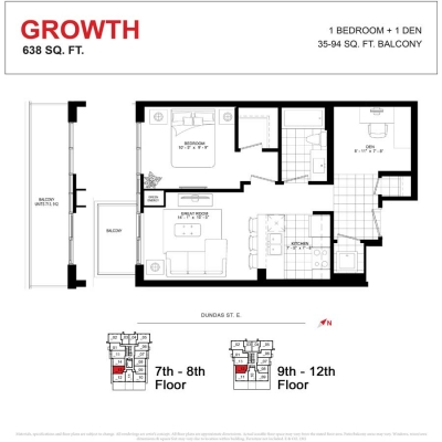 GROWTH FLOOR PLAN