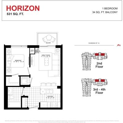 HORIZON FLOOR PLAN