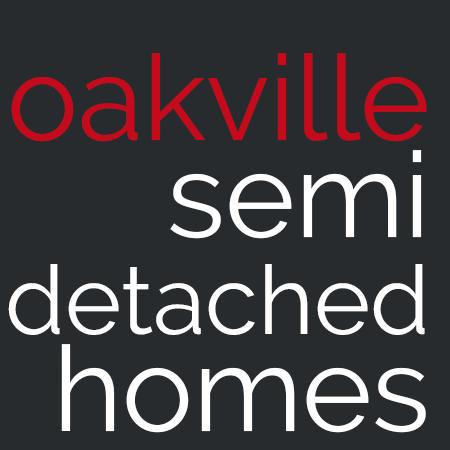 oakville semi detached homes